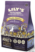 Lily's Kitchen Complete Nutrition Adult 8+, Salmon and Trout 1kg