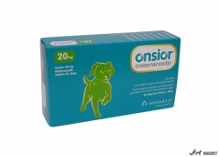 Onsior 20 mg - 4 blistere x 7 tbl/cutie