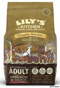 Lily's Kitchen Complete Nutrition Adult Highland Venison and Duck 1 kg