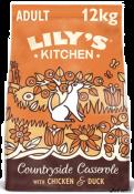 Lily's Kitchen Dog Chicken & Duck Countryside Casserole 12kg
