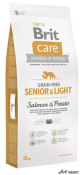 Brit Care Grain-free Senior Somon si Cartofi 12Kg