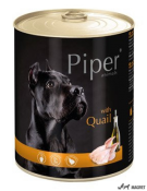 Piper Adult- Carne de Prepelita 800g