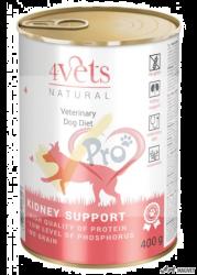 4Vets Dieta Veterinara Kidney Support 400g