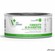 4T Veterinary Dieta Obesity & Diabetes Cat 100g