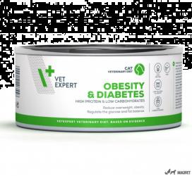 4T Veterinary Dieta Obesity & Diabetes Cat 100g