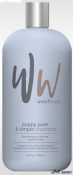 Sampon Woof Wash Puppy Pure & Simple 709ml