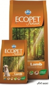 Ecopet Natural Lamb Mini 12Kg