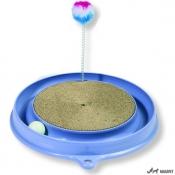 Jucarie pentru Pisica Play N Scrach Albastru