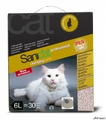 Nisip SaniCat Clumping Gold 6L