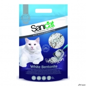 Nisip SaniCat Clumping White Bentonite 5L