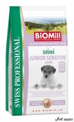 Biomill Profesional Mini Junior Sensitiv Miel 1Kg