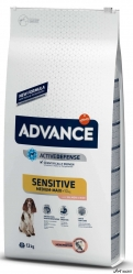 Advance Adult Sensitive Somon si Orez 12Kg
