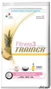 Trainer Fitness3 Dog Puppy and Junior Mini Fish and Rice 7,5kg