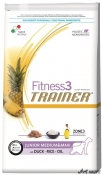 Trainer Fitness3 Dog Puppy and Junior M/M Duck and Rice 12,5kg