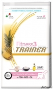 Trainer Fitness3 Dog Puppy and Junior M/M Fish and Rice 12,5kg