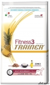 Trainer Fitness3 Dog Adult M/M Lamb and Rice 12,5kg