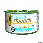 Trainer Fitness Dog Adult Mini Fish and Maize 150 gr
