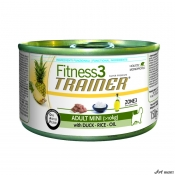 Trainer Fitness Dog Adult Mini Duck and Rice 150 gr
