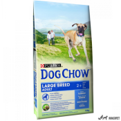 Dog Chow Adult Large Breed Curcan 14kg