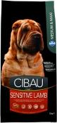 Cibau Sensitive Lamb Mediu-Maxi 12 Kg