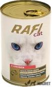 RAFI CAT- Carne de Pui (cuburi) in sos 415g