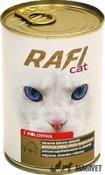 RAFI CAT- Carne de vita (cuburi) in sos 415g
