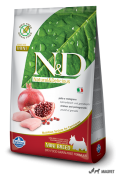 N&D Grain Free Pui si Rodie Adult Mini 7kg