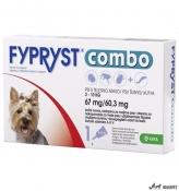Fypryst Combo Dog S 2-10Kg