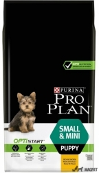 Purina Pro Plan Small & Mini Puppy Pui & Orez 7kg