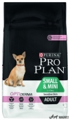 Purina Pro Plan Small & Mini Adult Piele Sensibila Somon 3kg