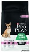 Purina Pro Plan Small & Mini Adult Piele Sensibila Somon 3kg