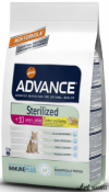 Advance Cat Steril. +10 Ani 1.5Kg