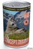 Dog Concept Cons. Curcan/Pui 415g