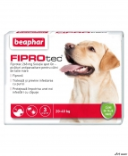 Beaphar Pipeta Antiparaz. Caine 20-40 Kg Fiprotec L 3 buc