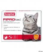 Beaphar Pipeta Antiparaz. Pisica Fiprotec 3 buc