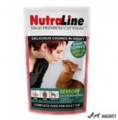 Nutraline Cat Plic Sensory Pui/Rata 100g