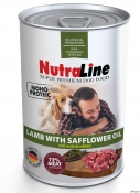 Nutraline Dog Conserva Adult Monoprotein Miel/Ulei de Sofranel 400g