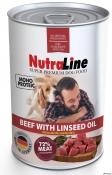 Nutraline Dog Conserva Adult Monoprotein Vita/Ulei de In 400g