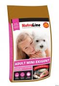 Nutraline Dog Adult Mini Exigent 8kg