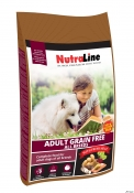 Nutraline Dog Adult Grain Free 3kg