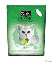 Kit Cat Classic Crystal Apple 5L  + cadou plic Piper Pisica