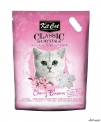 Kit Cat Classic Crystal Cherry Blossom 5L  + cadou plic Piper Pisica