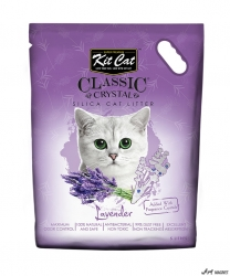 Kit Cat Classic Crystal Lavender 5L  + cadou plic Piper Pisica