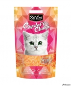 Kit Cat Crystal Clump Cotton Candy 4L  + cadou plic Piper Pisica