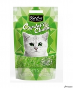 Kit Cat Crystal Clump Frosted Lime 4L  + cadou plic Piper Pisica