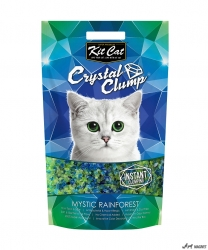 Kit Cat Crystal Clump Mystic Rainforest 4L  + cadou plic Piper Pisica