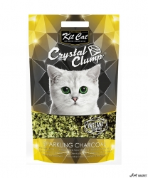 Kit Cat Crystal Clump Sparkling Charcoal 4L