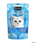 Kit Cat Crystal Clump Summer Sky 4L + cadou plic Piper Pisica