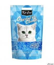 Kit Cat Crystal Clump Summer Sky 4L + cadou plic Piper Pisica