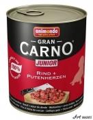 Gran Carno Junior Vita Inima Curcan 800g